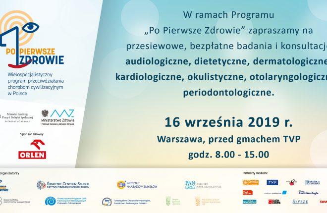 Zaproszenie nabadania dla mieszkańców Warszawy