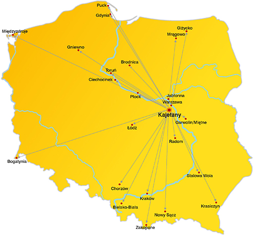 mapa LzR
